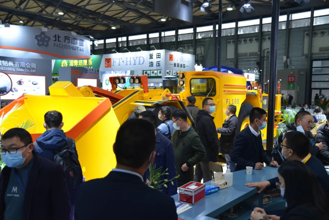 Preview before Fambition Heavy Machinery Shanghai Bauma Show